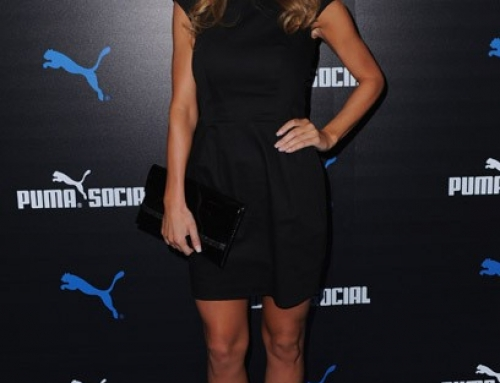 Celebrity placement on Audrina Patridge at the Puma Social Club