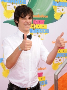 arrives at Nickelodeon's 24th Annual Kids' Choice Awards at Galen Center on April 2, 2011 in Los Angeles, California.