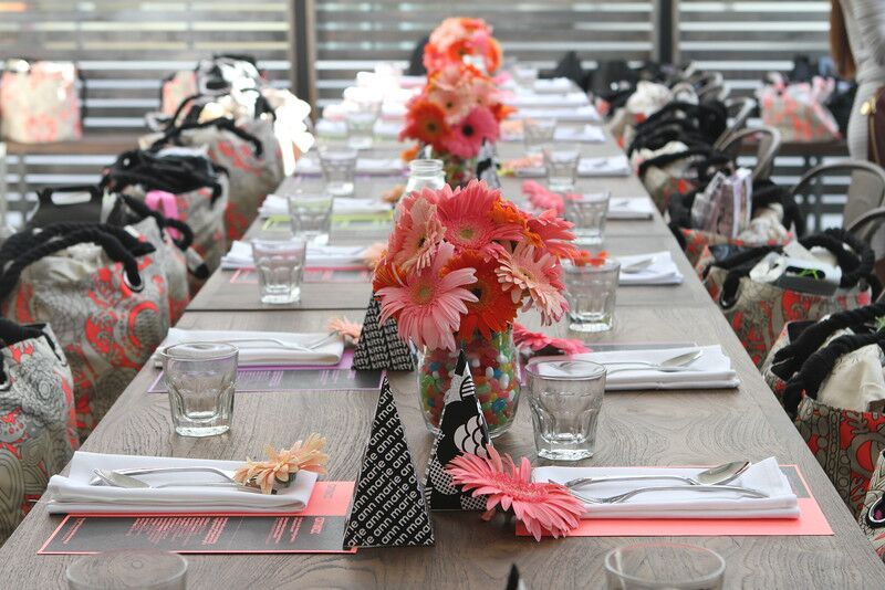Amika Influencer Brunch with Hello Drama Pr Table Setting 3
